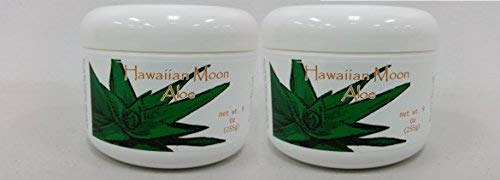 Hawaiian Moon Aloe Cream - 9 Oz Skin Care Jar (2 Pack)