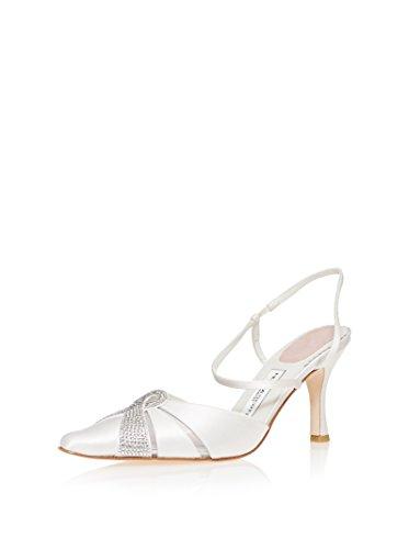 Filippa Scott Amy Bridal Shoes in Ivory Silk UnhitE7mz7