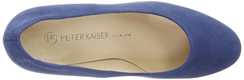 Peter Kaiser Women's Karola Closed Toe Heels Blue (Azur Suede Afric 897) r33kDTD5dS