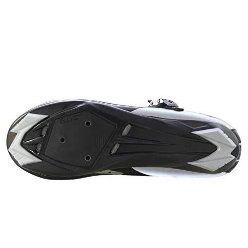 Avec En Route Chaussures Antidérapantes Fixation Sur Cyclisme Respirantes Réglables Vélo Et amp; Cuir De Synthétique Noir Pour Pédale Sidebike Adultes Nylon Ztdzqxggw