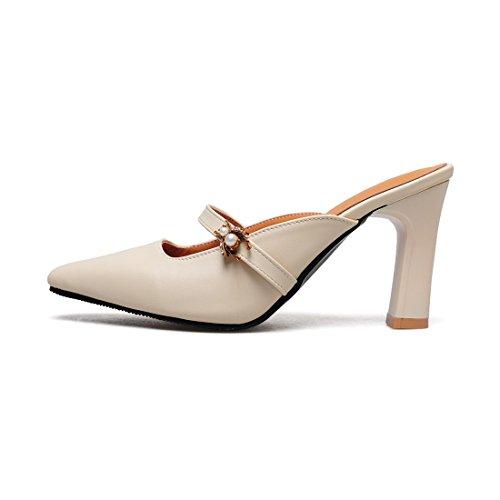 sandali e sandali bianco riso sandali baotou retro 43 tw6qrwa