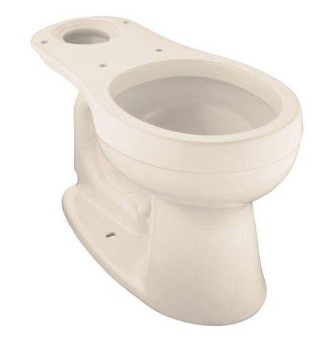 Innocent Blush (KOHLER K-4287-55 Cimarron Round-Front Toilet Bowl, Less Seat, Innocent Blush)