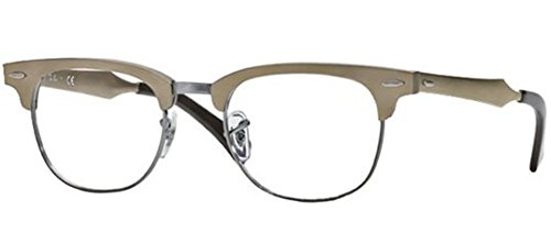 Ray Ban RX6295 Clubmaster Eyeglasses-2807 Brushed - Clubmaster Prescription Glasses Ray Ban