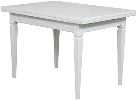 Artigiani Veneti Riuniti Mesa rectangular blanca en madera ...