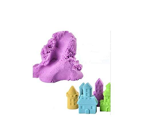 Jiada Ekta Active Never Dries Sand Clay, 2 Colours with 8 Moulds, 800G (Multicolour)