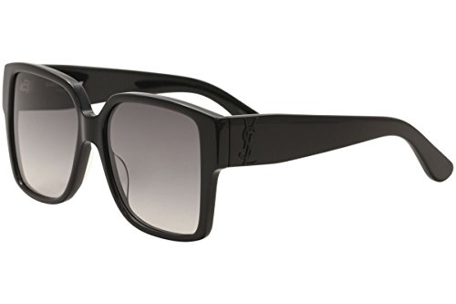 Yves Saint Laurent SL M9 002 55mm Black / Grey - Ysl Sun Glasses