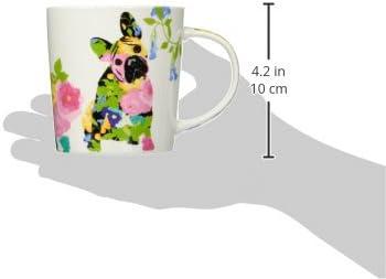 Paperproducts Design 603091 Brigitte Gift Boxed Mug 1 EA Multicolor PAPER PRODUCTS DESIGN