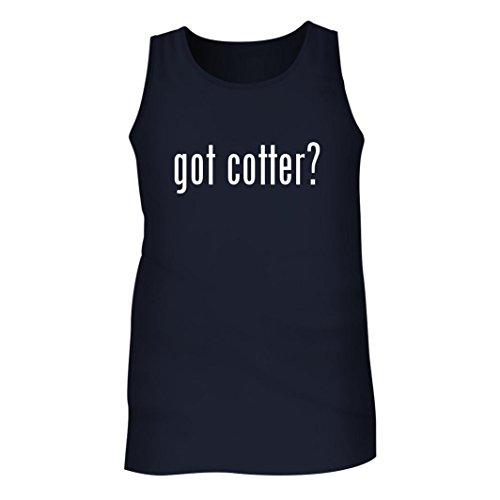 Got Cotter? - Men's Adult Tank Top, Navy, Large
