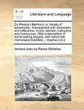 Du Plessis's Memoirs, Armand Jean du Plessis Richelieu, 1171389663