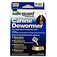 Safe-Guard Canine Dewormer For Dogs Only, 6 Weeks and Older, 9 Pouches Total(3 Packages with 3 Pouches ()