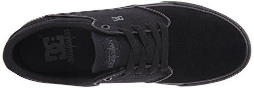 DC Men's Mikey Taylor Vulc Skate Shoe, Black, 7.5 M US