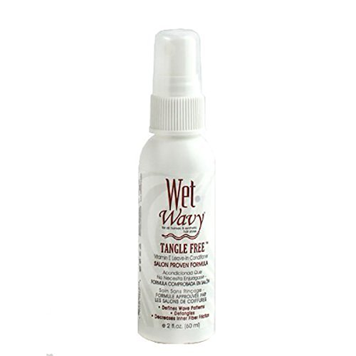 Wet-n-Wavy Tangle Free Vitamin E Leave-In Conditioner 2 oz (Best Wet N Wavy Braiding Human Hair)