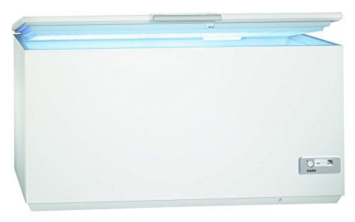 AEG ARCTIS A93200HLW0 Gefriertruhe / A+++ / 87,60 cm Höhe / 150 kWh/ Jahr / 327 L Gefrierteil / Innenbeleuchtung / LowFrost-Technik / weiß