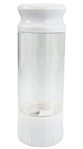 KitchenArt 80136 AirTite Auto-Measure Spice Jar, White