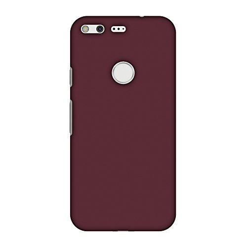 (AMZER Slim Fit Handcrafted Designer Printed Hard Shell Back Cover Skin for Google Pixel - Tawny Port HD Color, Thin Protective Case)