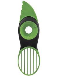 Get 3 In 1 Avocado Slicer Peeler Skinner Pitters Corers Green dispense