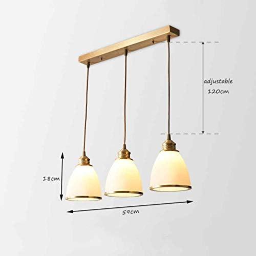 TB Chandelier Simple Dining Room Living Room Bedroom Lamp Creative Bar Dining Room Home Study Room Balcony 3 Heads Pendant Light Chandelier