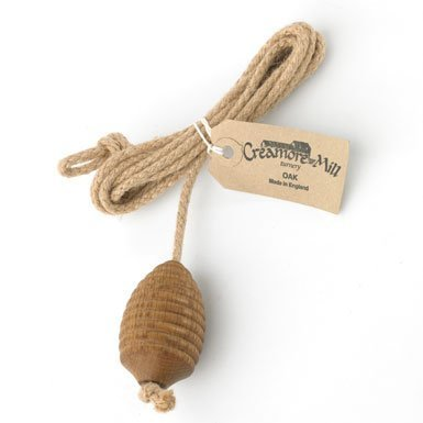 Creamore Mill Bee Hive Traditional Rope/Wood Light Pull by Creamore Mill