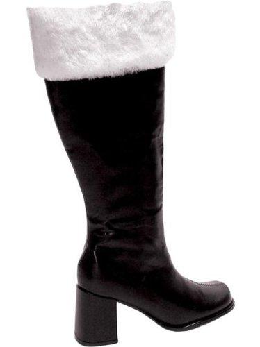 Pour Femme Pointure Mère 38 37 Noël Bottes Noires De xYBqFXI