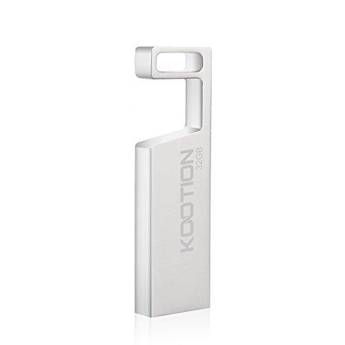 32GB USB 2.0 Flash Memory Drive Stick Silver - 7
