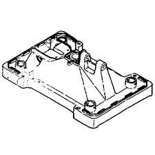 Hitachi 306090 Base Assembly P12R P12RA Replacement Part