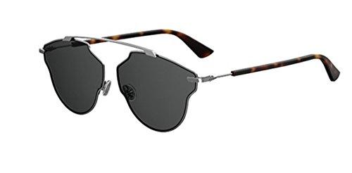 New Christian Dior So Real Pop KJ1/IR Dark silver/dark grey - Sunglasses So Real Silver Dior