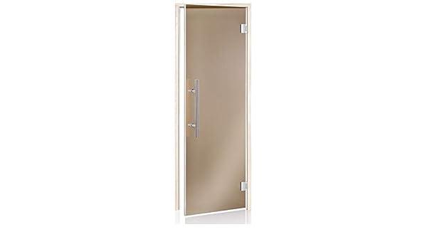 Glass House Puertas De Sauna De Lux Magnet 70 X 190 | Color De Cristal: Bronce | Material De Montura: Aspen: Amazon.es: Hogar