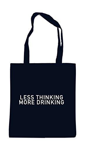 More Drinking Thinking Noir Sac Less Cw5U6wq