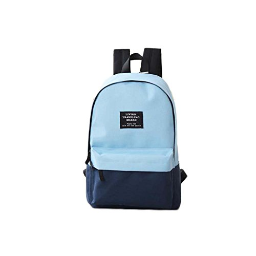 Fashion Student Bag Casual Canvas Rucksack Kleine Fresh Travel Rucksack_A9
