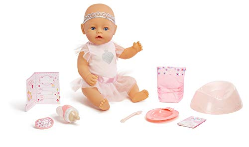 Baby Infant Born Doll (Baby Born Interactive Baby Doll- Blue Eyes)
