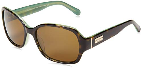 - Kate Spade Women's Akira Polarized Rectangular Sunglasses,Tortoise Mint,54 mm