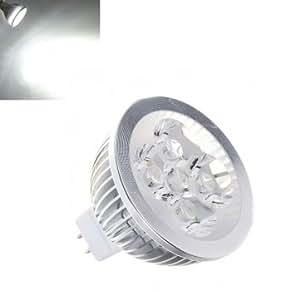 MR16 4W 360LM Pure White Energy Saving LED Spot Light Bulb 12V