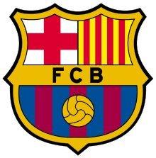 Barcelona F.C. Sticker Decal 3.8