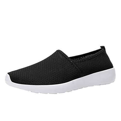 Goddessvan Women Cut Out Loafers Shoes Breathable Soft Bottom Hollow Casual Shoes Lightweight Mesh Flat Shoes Black