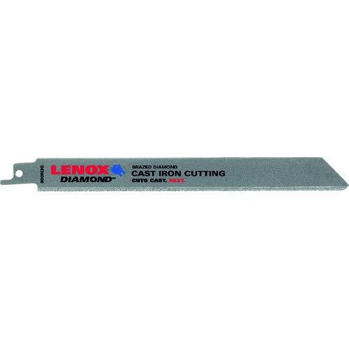 - Lenox Tools 10833800RDG Diamond Grit Reciprocating Saw Blade, 8-Inch, 1-Pack