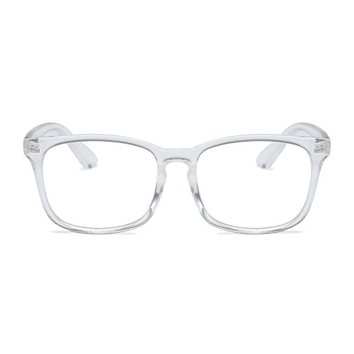 Amomoma Classic Wayfarer Eyeglasses Square Frame Clear Lens Glasses AM5022 - Glasses Frames Prescription Discount