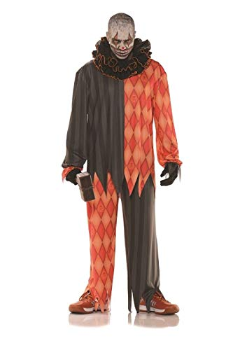Demented Evil Clown Adult Mens Costume Underwraps -