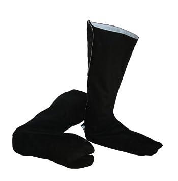 Playwell Ninja Indoor Tabi Suede Leather Sole Tabi Boots