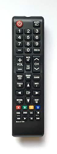 Replacement Remote Control BN59-01199F for Samsung UN55B6000VF UN55B7100 UN55C5000 LCD LED HDTV Smart TV