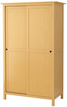 Armadio 2 Ante Ikea.Ikea 428 8511 1026 Armadio Con 2 Ante Scorrevoli Colore Giallo Amazon It Casa E Cucina