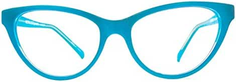 Retro Eyeworks Beverly Bifocal Anti-glare Reading Glasses 52-17 MM (1.75x, Blue)