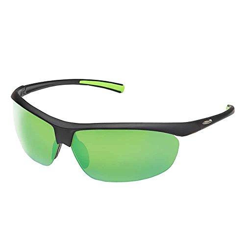 Suncloud Zephyr Polarized Sunglasses, Matte Black, Green - Suncloud Glasses Fishing