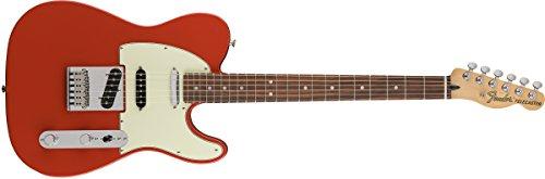 Nashville Style Guitar - Fender Deluxe Nashville Telecaster Electric Guitar - Pau Ferro Fingerboard - Fiesta Red
