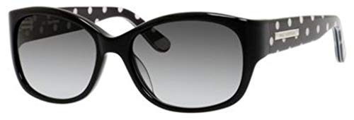 Juicy Couture Fashion Sunglasses - Juicy Couture Sunglasses - 551/S / Frame: Black Polka Dot Lens: Grey Gradient