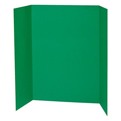 "Pacon PAC3768BN Presentation Board, Green, Single Wall, 48"""