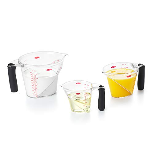 - OXO Good Grips 3-Piece Angled Measuring Cup Set