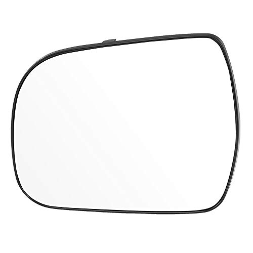 (SCITOO Side View Mirror Driver Side Glasses Door Mirror Glass fit for Toyota Sienna 2011 2012 2013 2014 Chrome Heated)