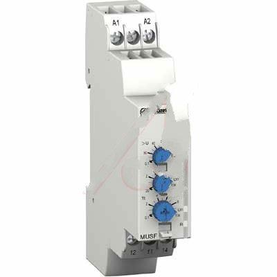 Crouzet Controls 84872151, Relay; E-Mech; Control; Cur-Rtg 5A; Ctrl-V 24-48AC/DC; Vol-Rtg 250AC/DC; DIN Rail Mnt