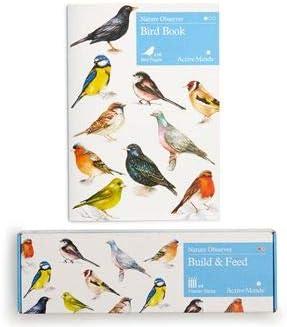 Active Minds Comedero para pájaros (DIY) construye tu Propio alimentador de Semillas para pájaros de Madera para Personas Mayores y Ancianos con Demencia y pérdida de Memoria