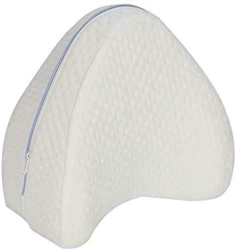 Ellaao 1 Pezzi Cuscini per Le Gambe Leg Memory Foam Cushion Pillow Rimovibile Copertura per Le Gambe Legs Knee Support Nerve Pressure Relief